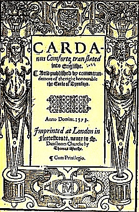 Cardanus Com. 1573 Frontispiece, JPEG #1