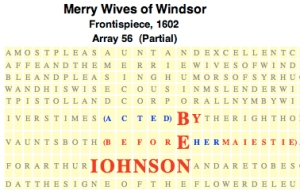 Merry Wives, Frtsp., 1602, BEN JOHNSON, JPEG