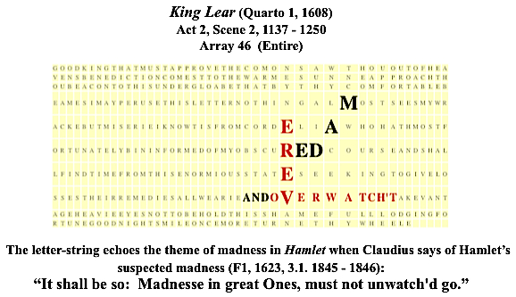 King Lear (Q1, 1608), 2.2., VERE, MAD and overswatch't, #1