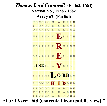 Thomas Lord Cromwell, 5.5., Lord Vere hid,#4