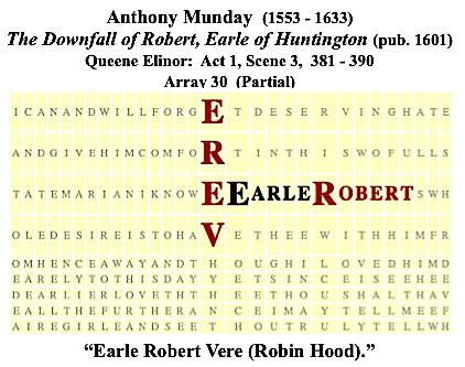 Munday, Robin Hood, Earle Robert Vere, Scene 3, #4