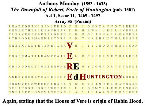 Munday, Robin Hood, Ed Vere, Huntington, Sc. 11