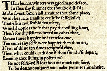 Sonnet 6, Bess, procreation, plxt.